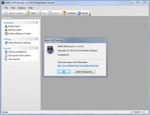 Enlarge DEKSI USB Security Screenshot