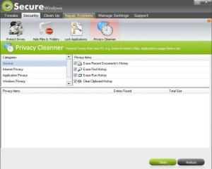 Enlarge Secure Windows Pro Screenshot