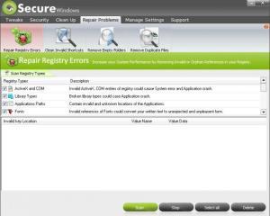 Enlarge Secure Windows Pro Screenshot