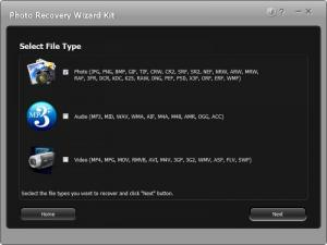 Enlarge Photo Recovery Wizard Kit Screenshot