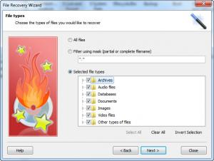 Enlarge Comfy File Recovery Screenshot