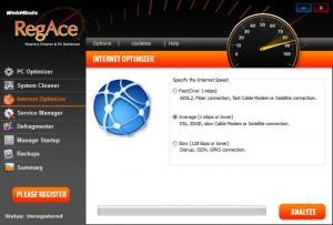 Enlarge RegAce Screenshot