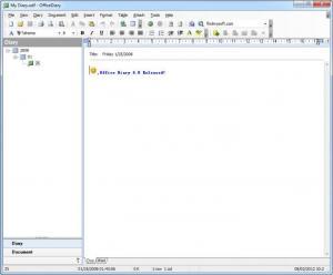 Enlarge OfficeDiary Screenshot