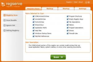 Enlarge RegServe Screenshot
