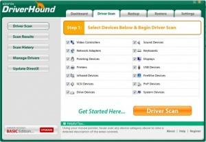 Enlarge DriverHound Screenshot