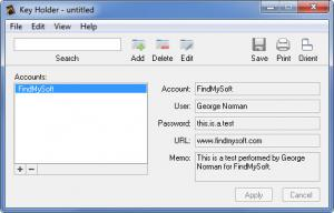 Enlarge Key Holder Screenshot