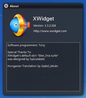 Enlarge XWidget Screenshot