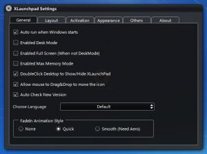 Enlarge XLaunchpad Screenshot