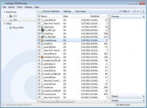 Enlarge Auslogics File Recovery Screenshot