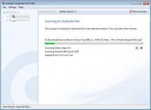 Enlarge Auslogics Duplicate File Finder Screenshot