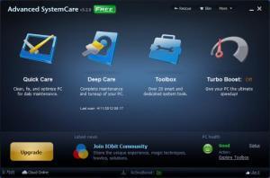 Enlarge Advanced SystemCare Free Screenshot