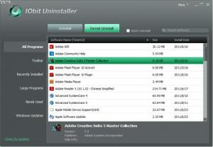 Enlarge IObit Uninstaller Screenshot