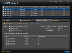 Enlarge IObit Smart Defrag Screenshot