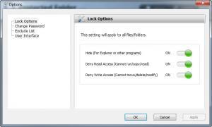 Enlarge Protected Folder Screenshot