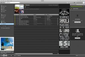 Enlarge Spotify Screenshot