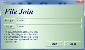 Enlarge HJSplit Screenshot
