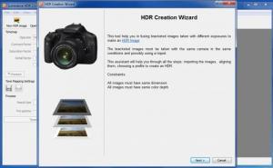 Enlarge Luminance HDR Screenshot