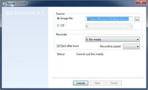 Enlarge ISO Recorder Screenshot