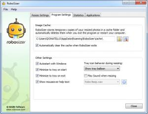 Enlarge RoboSizer Screenshot