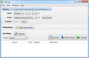 Enlarge VidCoder Screenshot