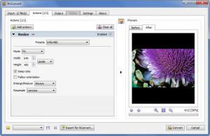 Enlarge XnConvert Screenshot