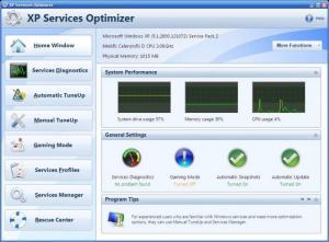 Enlarge XP Services Optimizer Screenshot