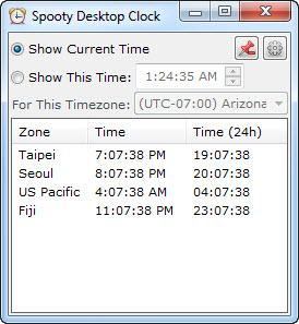 Enlarge Spooty Desktop Clock Screenshot