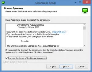 Enlarge StayAwake Screenshot