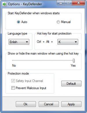 Enlarge KeyDefender Screenshot