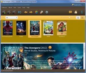 Enlarge MovieHive Screenshot