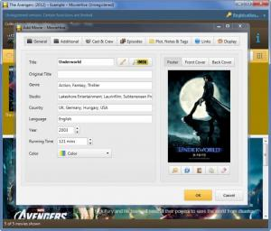 Enlarge MovieHive Screenshot