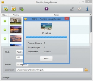 Enlarge Plastiliq ImageResizer Screenshot