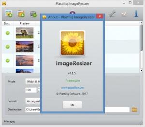 Enlarge Plastiliq ImageResizer Screenshot