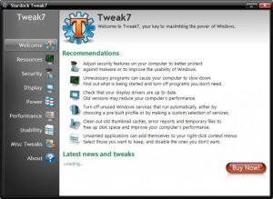 Enlarge Tweak7 Screenshot