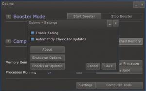 Enlarge Optimo Screenshot