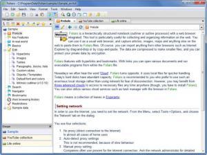 Enlarge Foliaro Screenshot
