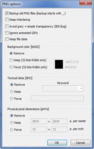 Enlarge PngOptimizer Screenshot