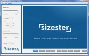 Enlarge Sizester Screenshot