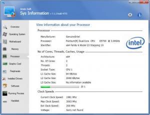 Enlarge Sys Information Screenshot