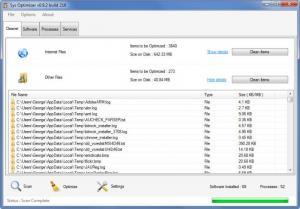 Enlarge Sys Optimizer Screenshot