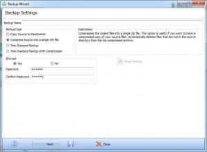 Enlarge USBsyncer Screenshot