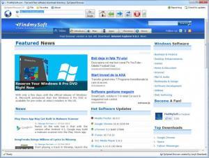 Enlarge SjoSpeed Browser Screenshot