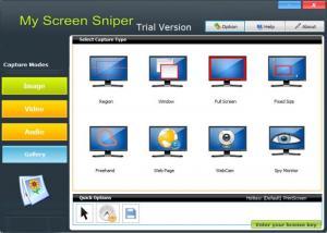 Enlarge My Screen Sniper Screenshot