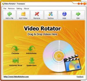 Enlarge Video Rotator Screenshot