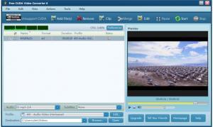 Enlarge Free CUDA Video Converter Screenshot