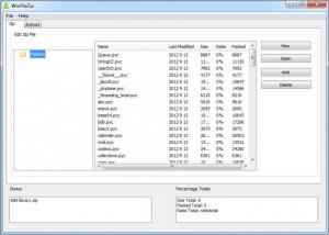 Enlarge WinFileZip Screenshot