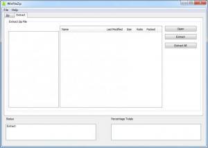Enlarge WinFileZip Screenshot