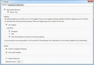 Enlarge Unpack Monitor Screenshot