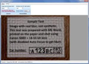 Enlarge SmartDeblur Screenshot