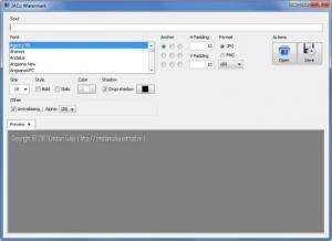 Enlarge JACo Watermark Screenshot